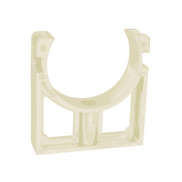 OPEN PIPE CLIPS CLIPS SOLVENT WHITE