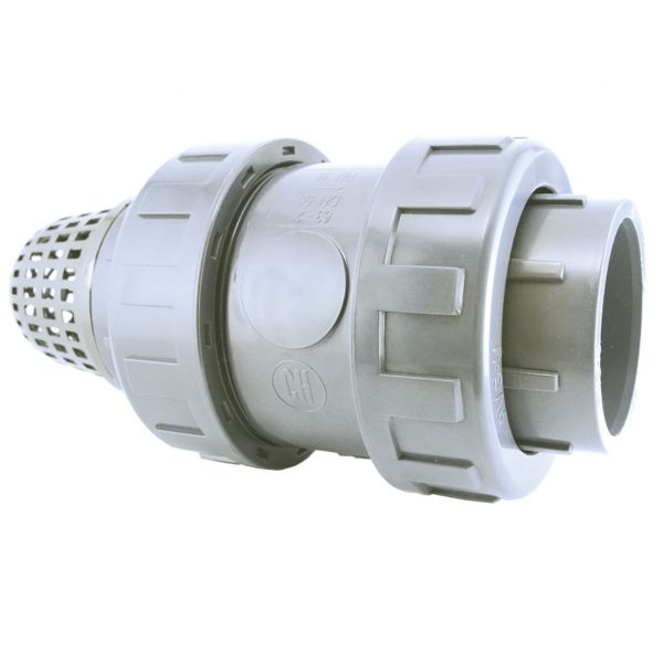 FOOT VALVE WITH PVC BALL SOLVENT SOCKET FPM